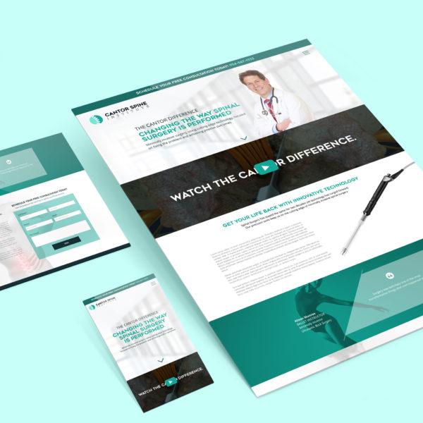 Cantor Spine Website
